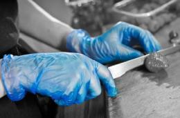 Handschoen food industrie
