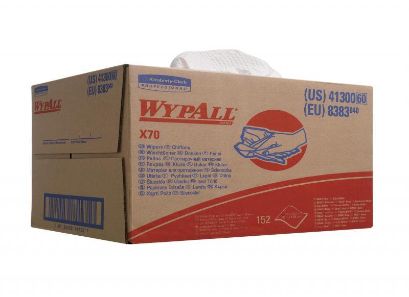 Wypall poetsdoek<br><span class='title2'>kimberly clark 8383</span>
