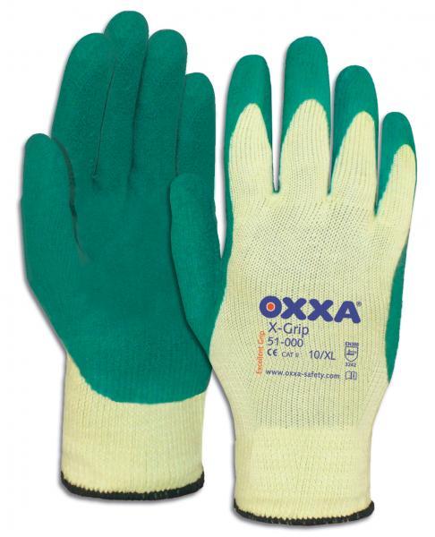 Handschoen Latex grip<br><span class='title2'>Stratenmaker</span>