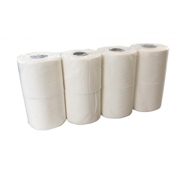Toiletpapier 3 laags extra zacht<br><span class='title2'>toiletpapier snel oplosbaar in water</span>