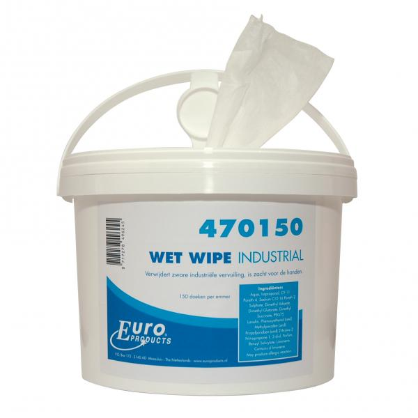 Handreinigingsdoekjes 470150<br><span class='title2'>wet wipes handcleaner</span>