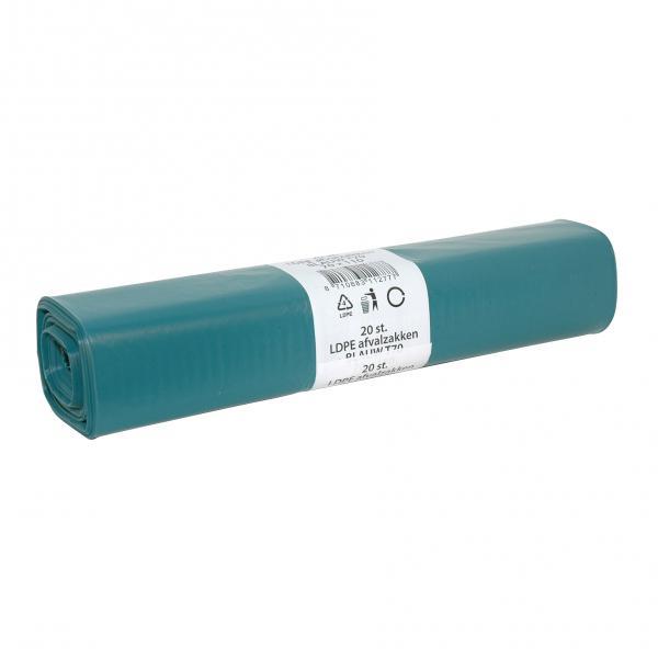Afvalzak LDPE 80 x 110<br><span class='title2'>vuilniszak T60</span>