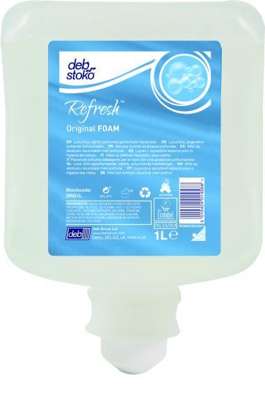 Deb Stoko Refresh Original Foam zeep<br><span class='title2'>handzeep deb</span>