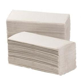 Vouw handdoek z-vouw, cellulose