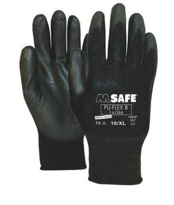 Flex handschoen<br><span class='title2'>PU coating</span>