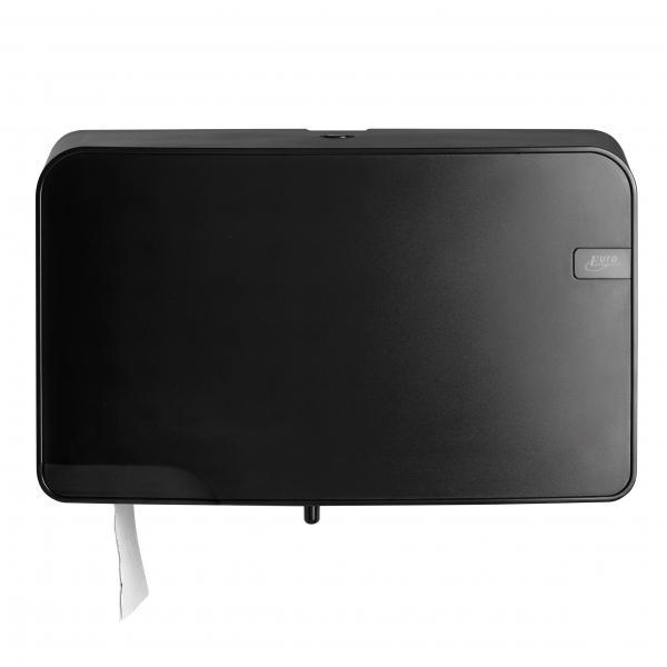 Toiletrol houder<br><span class='title2'>Toiletpapierdispenser,compact/standaard rol</span>