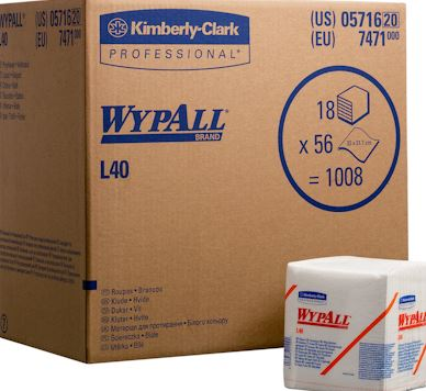 Wypall doek L40 <br><span class='title2'>Kimbery clark 7471</span>